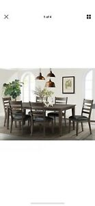 Image Is Loading Imagio Home Solid Wood Extending Dining Room Table