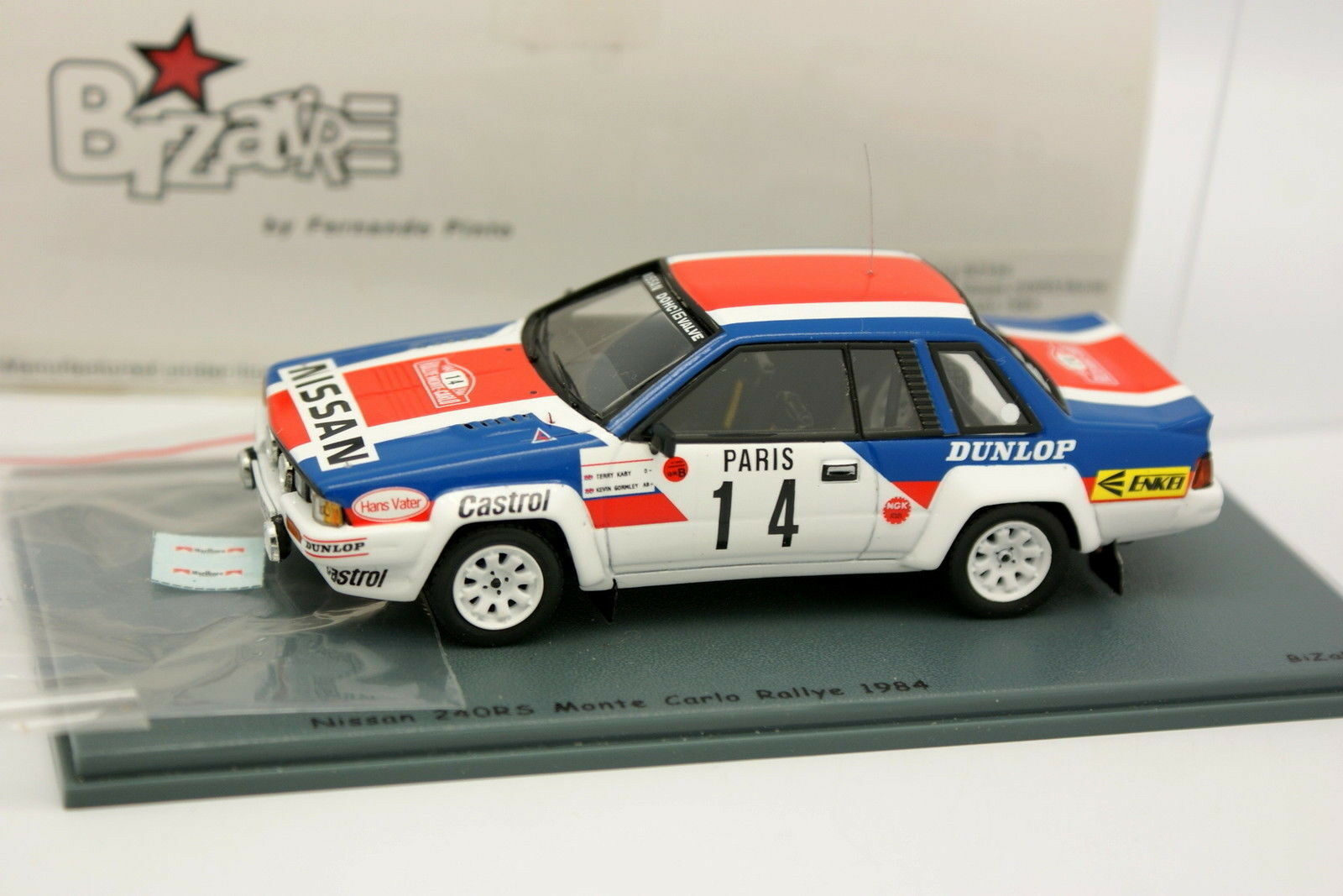 Bizarre 1 43 - Nissan 240 RS RS RS Marlbgold Rally Monte Carlo 1984 N.14 0d733c