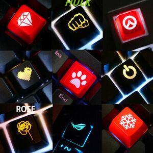 Corsair-Razer-Customized-Backlit-Keycap-Keycaps-R4-OEM-for-Cherry-MX-Keyboard