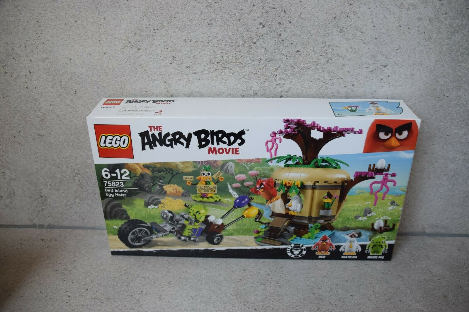LEGO® Angry Birds 75823 Bird Island Egg Heist Heist Heist The Angry Birds Movie NEU & OVP 09923e