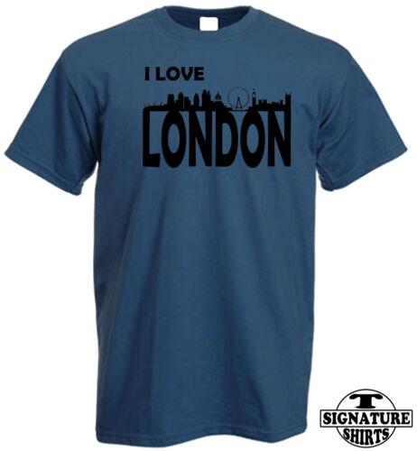 FUN T SHIRT I LOVE LONDON