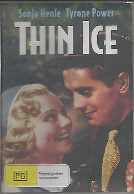 THIN ICE TYRONE POWER & SONJA HENIE CLASSIC RARE NEW ALL REGION DVD
