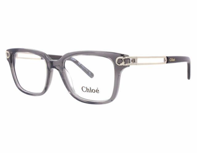 92597316b33 Chloe Ce2663 036 50mm Dark Grey Optical Eyeglasses Frames for sale ...