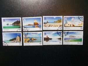 GB-Jersey-2014-Commemorative-Stamps-Summer-Very-Fine-Used-Set-UK-Seller