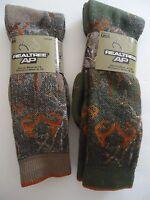 Realtree Men's Merino Wool Camo Socks, Size 10-13,us,made In The Usa