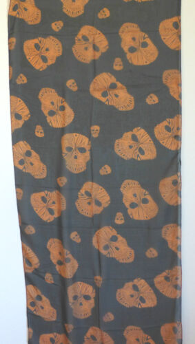 Ladies Large Lightweight Tribal Skull Head Scarf Wrap in 4 Colours !! Shawl