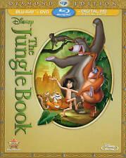 The Jungle Book (Blu-ray/DVD, 2014, 2-Disc Set, Diamond Edition) NO slip cover
