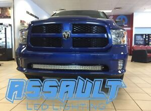 40 Led Luz Barra Parachoques Soportes Para 2009 Up Ram 1500