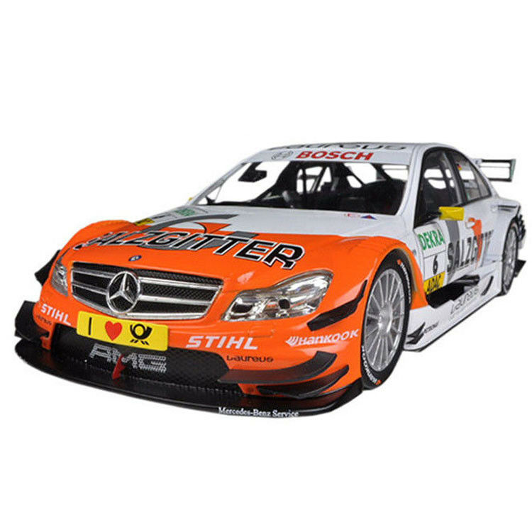 Norev 183580 2011 Mercedes Benz Clase C DTM AMG Salzgitter Schumacher  18