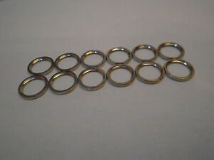 Toggle Switch Ring Nut 16-3P 12 PC.