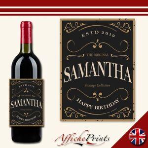 L176-Personalised-Vintage-Any-Occasion-Custom-Wine-Bottle-Label-Wedding-Birthday