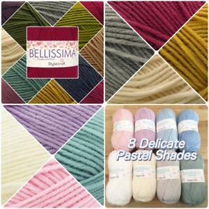 Stylecraft-BAMBINO-amp-BELLISSIMA-DK-Double-Knitting-Yarn-100g