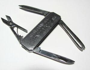 Vintage Pocket Knife Multi Blade Jsc Co 25th Anniv Japan
