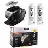 Andis Razr Pro Hot Lather Machine Barber Straight Razor + 8oz Shave Cream (2)