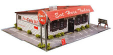 1:48 Scale O Gauge Diner Photo Real Scale Building Kits Diorama Track Layout Set