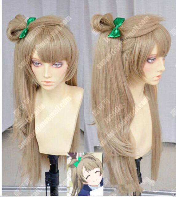 Hair Cap+Japanese Anime Love Live! Minami Kotori Cosplay Wig Synthetic Long Full