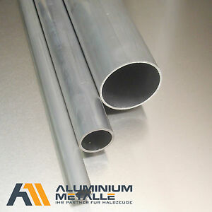 L: 400mm Aluminium Rechteckrohr AW-6060-80x40x4mm 40cm auf Zuschnitt