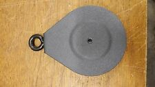 """(1) Bowflex Sport Blaze Elite Grey 4"""" Pulley Used - Works as a black replacement"""