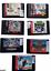 miniature 1 - Vintage Lot of 7 Sega Genesis Video Game Cartridges Authentic Not Tested