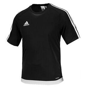 11d5f764f447 Adidas Men Estro 15 S S T-Shirts Soccer Black Climalite Tee Top ...