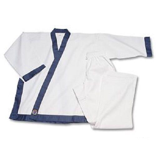 Tang Soo Do TSD Uniform Gi- Blau Trim