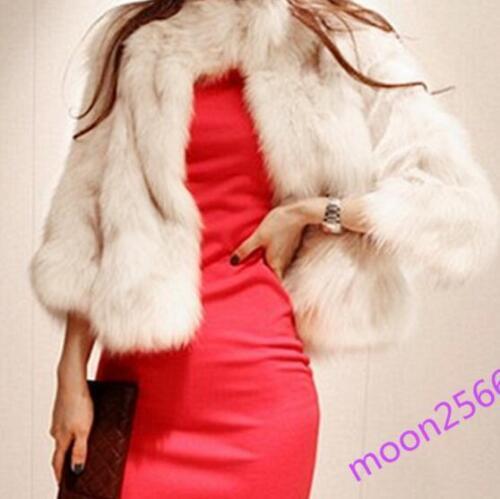 volpe in vestibilità invernale di coreana donna pelliccia giacca slim sera cappotti da Giacca da wTUqWYpT