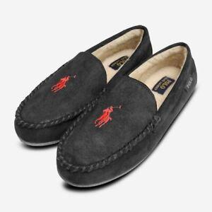 Ralph Lauren Black Men's Slippers with