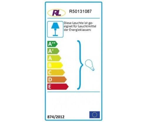 R50131087 2er Set PING grau Tischleuchte Nachttischleuchte Stehleuchte Lampe