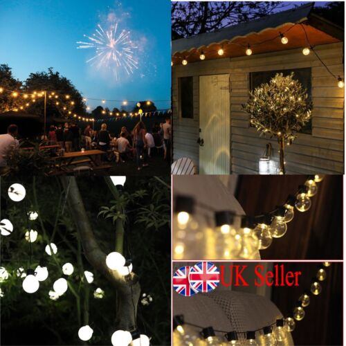 Access Control Kits Imported From Abroad 6m 20 Led Clear Globe Indoor Outdoor Decoration Plastic Bulb Festoon Party Garden Yard Fence Lamp Holiday String Lights Security & Protection