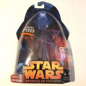 Star Wars Revenge Of The Sith Holographic Emperor Palpatine Toys R Us Exclusive 653569116196 Ebay