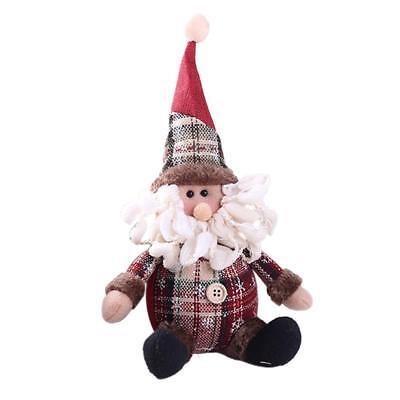 Christmas Gift Santa Claus Snowman Ornament Festival Party Xmas Table Decor Doll