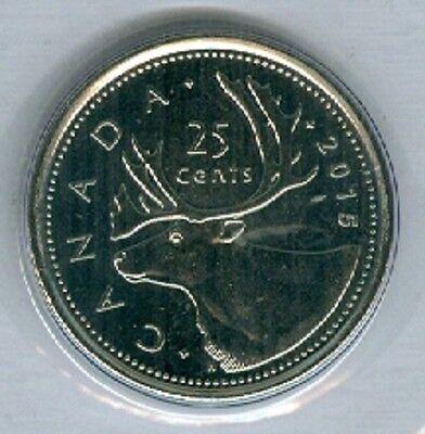 2009 RCM Logo Quarter 25 Cent /'09 Canada BU Coin UNC