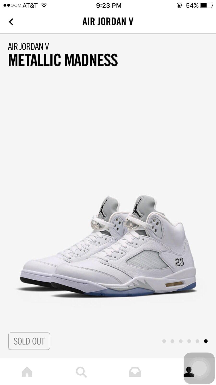 Air Jordan 5 white Metallic