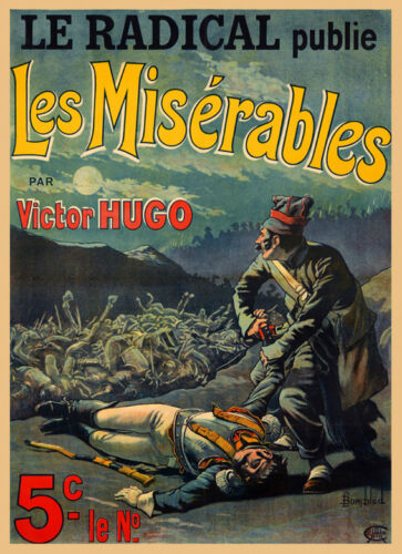 Music Les Miserables Opera by Victor Hugo Theater Vintage Poster Repro FREE SH