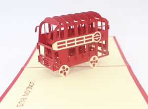 New-3D-PopUp-Greeting-Card-London-bus-Birthday-Thanksgiving-Christmas-Occasion23