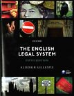 The English Legal System by Alisdair Gillespie (Paperback, 2015)