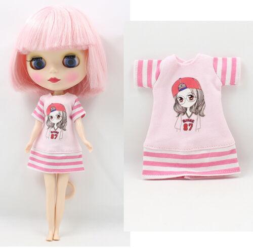 """1PC 12/"""" Blythe Doll Factory  Blythe/'s Pink Outfit JS94-5"""