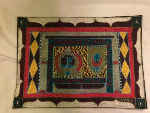 African hand sow placemat