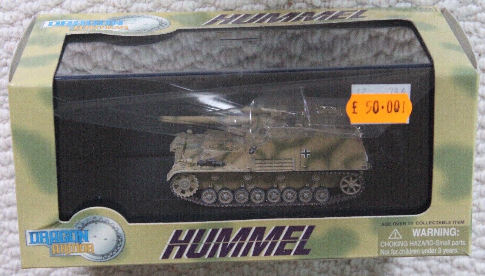 DRAGON 72 1 ARMOR GERMAN TANK WW2 HUMMEL 60189 17540rwuh8442