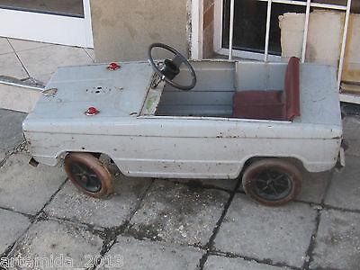 VERY RARE  Vintage Russian Metal Pedal Car VAZ LADA Giguli USSR 1984