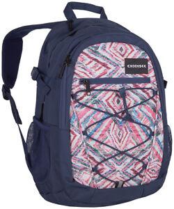 Taschen Chiemsee Herkules Backpack Rucksack Schulrucksack Laptoptasche Tasche Structure Das Ganze System StäRken Und StäRken