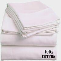 24 White Standard Size Hotel Pillowcases 20x30 T180 Threadcount 100% Cotton on sale