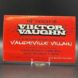 STICKER-MF-DOOM-is-Viktor-Vaughn-Vaudeville-Villain-OG-NEW