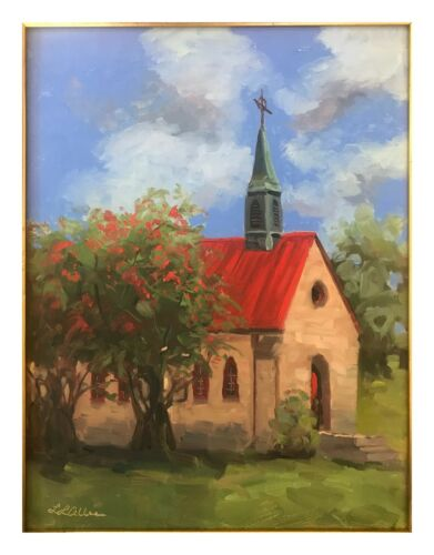 Wesley ART card- by Artist Laura Allee 5 Postcards with each order Mt