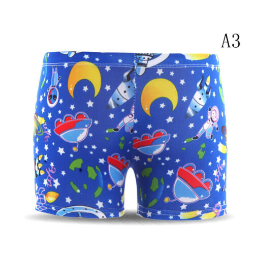 Kids Boys Cartoon Shorts Swim Pants Children Swimming Trunks Briefs  DS