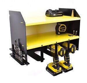 Dewalt-perceuse-batterie-outil-Rack-Pour-Rangement-Support-atelier-Organisateur
