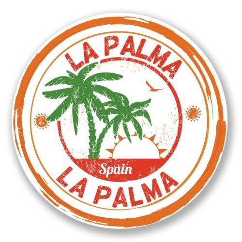 2 x La Palma Spain Vinyl Sticker Laptop Travel Luggage Car #6101