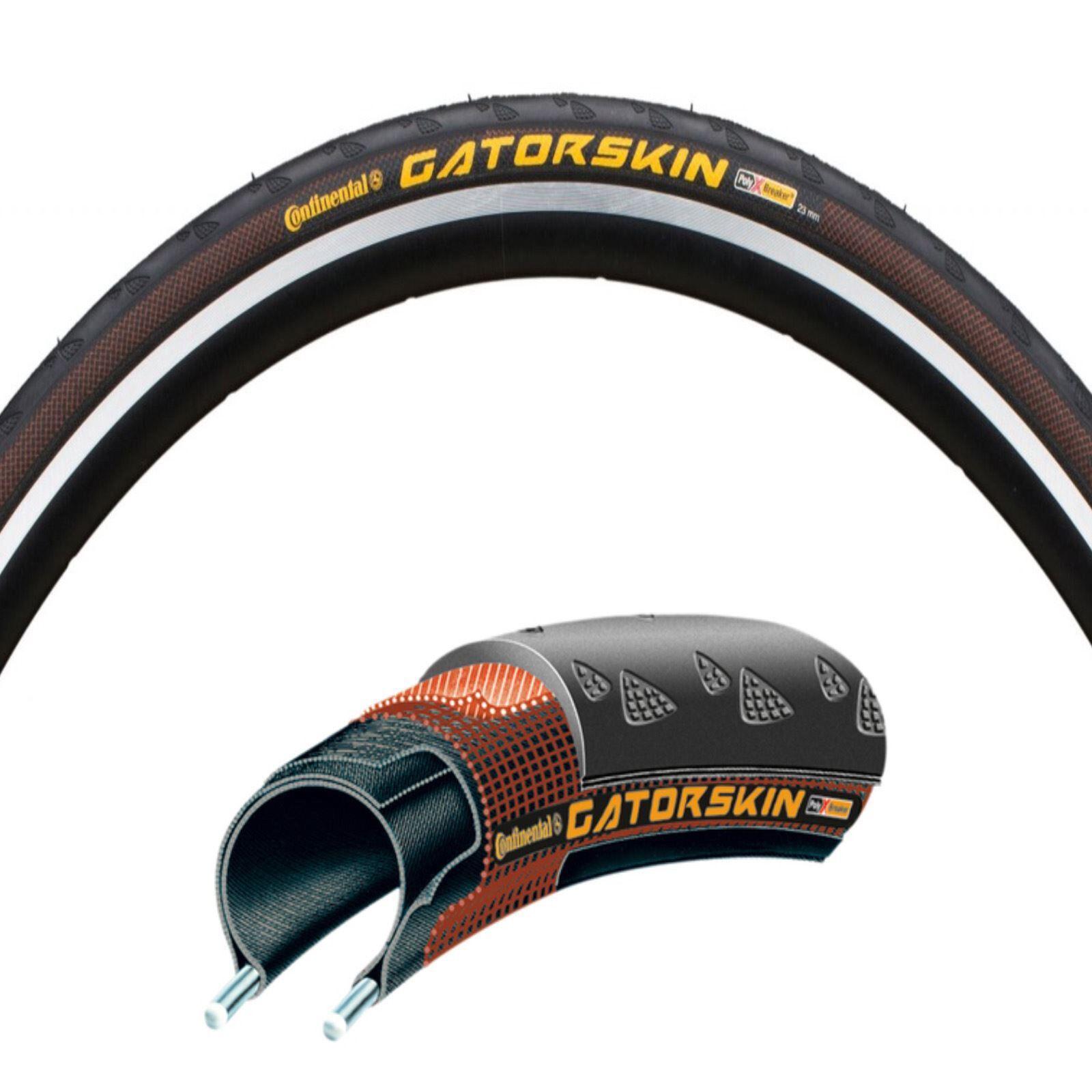 Continental Ultra GatorSkin DuraSkin Wired Road Bike Tyre 700c Bicycle Cycle