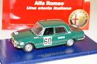M4 ALFA ROMEO 1750 BERLINA #60 COPPA DELLE ALPI 1968 1:43