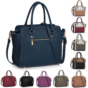 Image Is Loading Womens Tote Handbags Las Celebrity Style Bag Medium